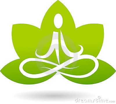 Logo of lotus meditation
