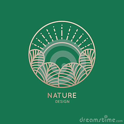 Logo nature Vector Illustration