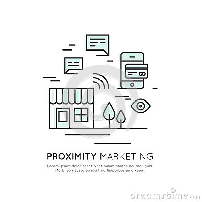 Free Logo Of Proximity Marketing, Public Hotspot Zone Wireless Internet Wi-Fi Free. Sending Messages, Information And Offers To Users, Stock Images - 86310924