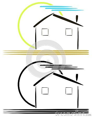 Logo per gli architetti o gli agenti immobiliari for Oggetti per architetti
