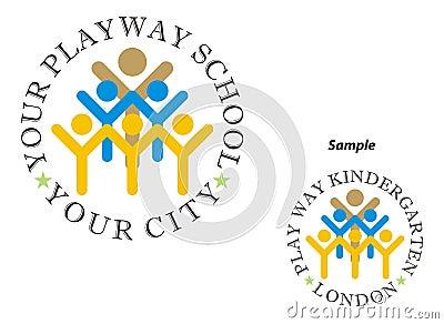 Logo - Play way school