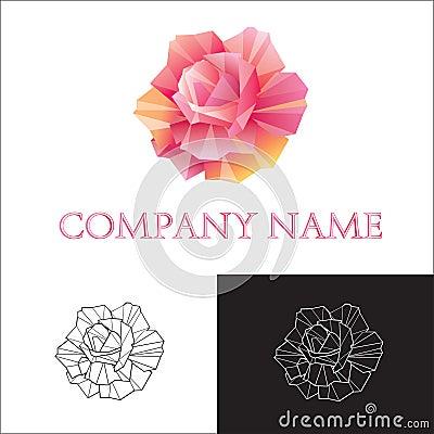 Free Logo Rose Royalty Free Stock Images - 14159179