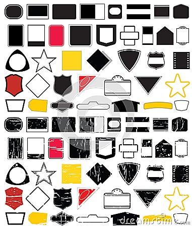 Free Logo Shape Designs No.2 Stock Photo - 3344890