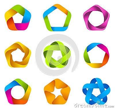 Logo star infinite