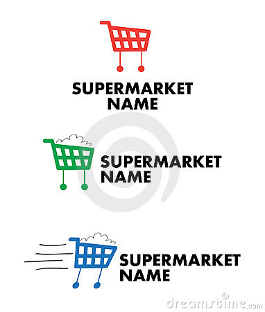 Logo for supermarket and mall