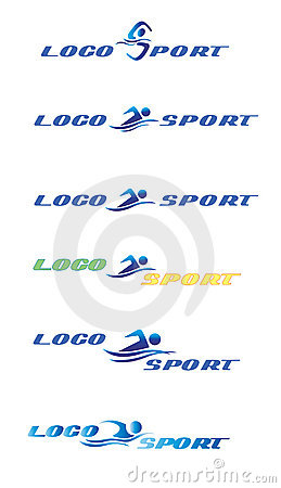 Logo swimming sport