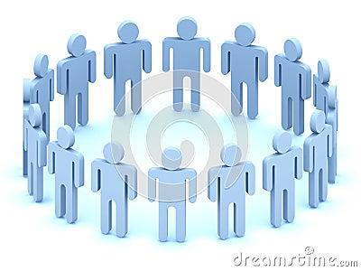 Logo Team of people