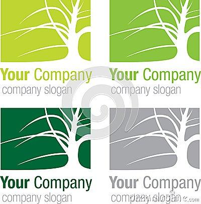 Logo tree silhouette