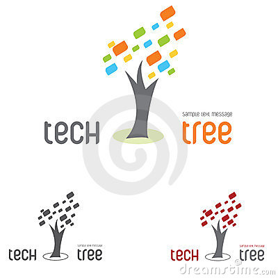 Logo tree tech