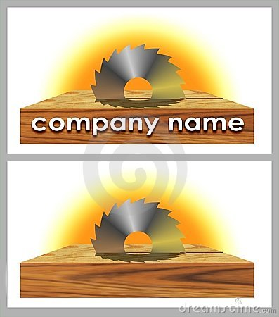 Logo of woodworking company