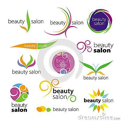 Logos beauty salons