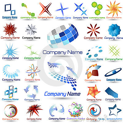 Free Logos Collection Royalty Free Stock Photo - 6629335