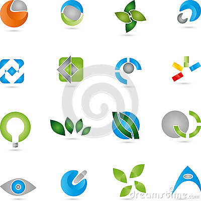 Free Logos, Collection, Services, IT Royalty Free Stock Photography - 76455667