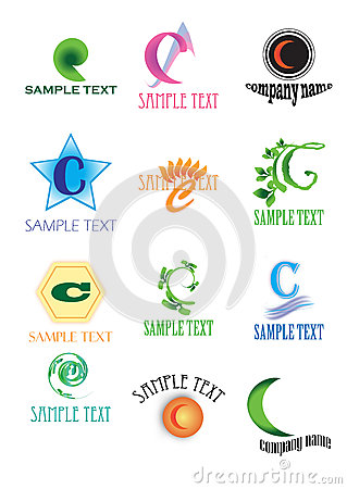 Logos with letter C
