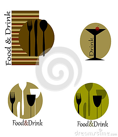 Logos for restaurants