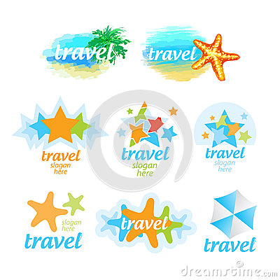 Logos for the travel and tourism