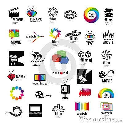 Free Logos Tv, Video, Photo, Film Royalty Free Stock Image - 32055826