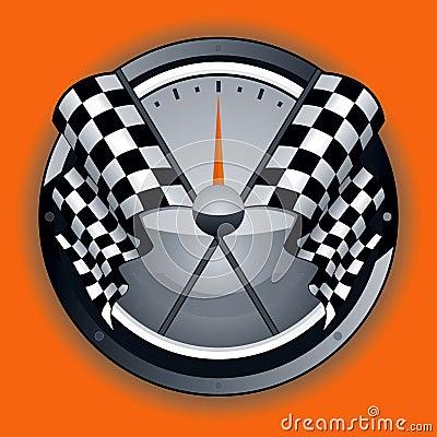 Logotipo Checkered da bandeira