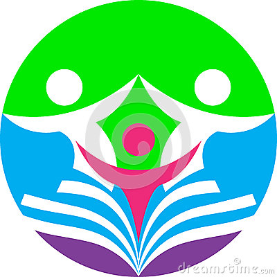 Logotipo da educação e formação