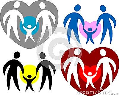Logotipo da família