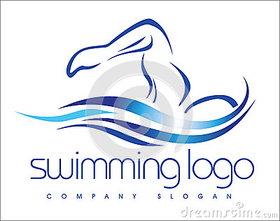 Logotipo da natação