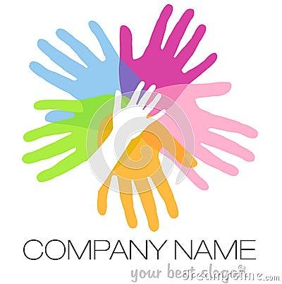 Logotipo das mãos