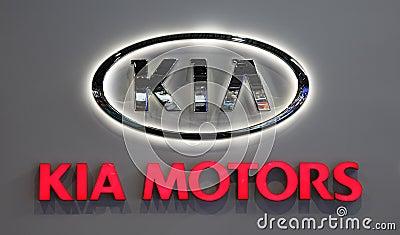 Logotipo de kia motors company foto de archivo editorial for Kia gunther motor co