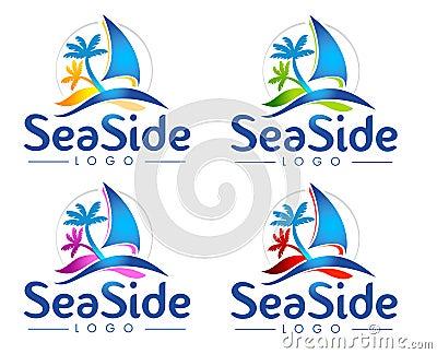Logotipo del mar
