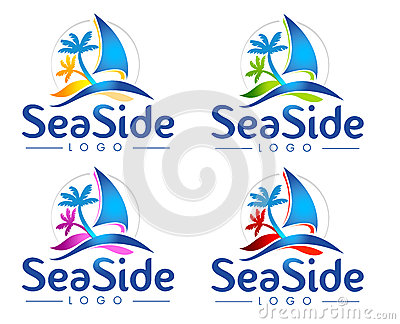 Logotipo do mar