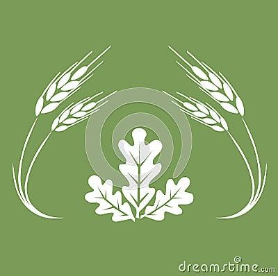 Logotipo do outono.