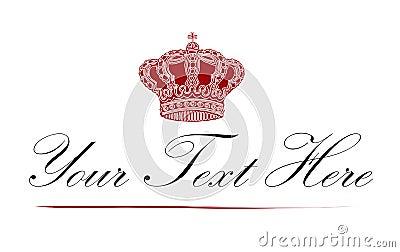 Logotipo real da coroa