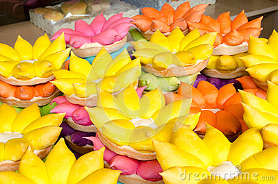 Loi Krathong rafts of bread
