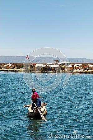 Lokaal op Meer Titicaca