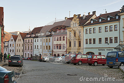 Loket town, Czech republic Editorial Photography
