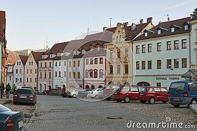 Loket town, Czech republic Editorial Photography