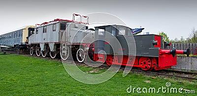 lokomotiven in technischem museum speyer redaktionelles stockbild bild 55361619. Black Bedroom Furniture Sets. Home Design Ideas