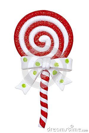Lollipop de la Navidad