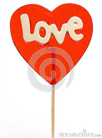 Lollipop do Amor-coração