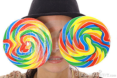 Lollipop eyes