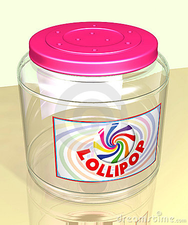 Lollipop Jar
