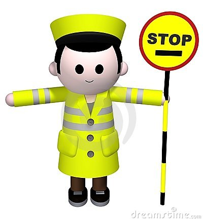 Free Lollipop Man Stock Photography - 4791922