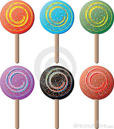 Lollipop round