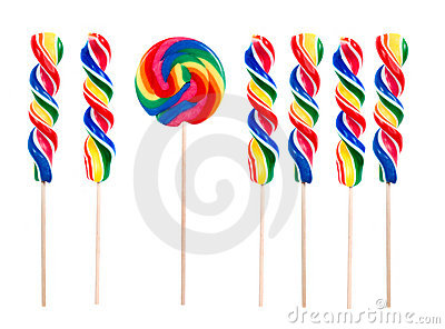 Lollipops  Think Different