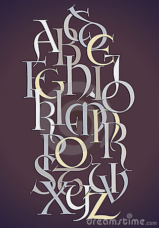 Lombard alphabet composition