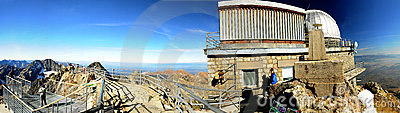 Lomnicky Peak Observatory - Slovakia Editorial Stock Photo