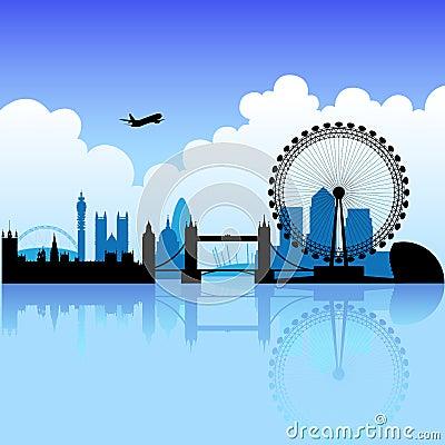Londen op een heldere dag