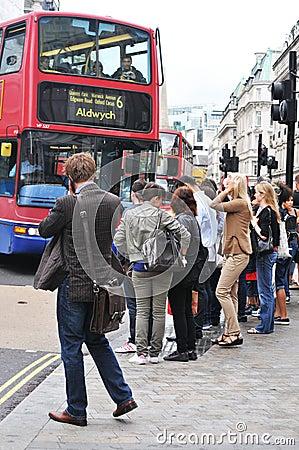 London Editorial Stock Image