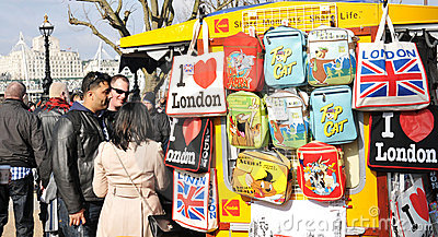 London Editorial Stock Image
