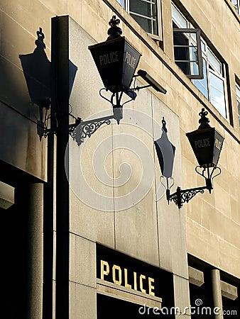 London: 1940s police station