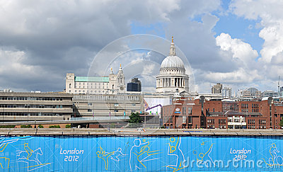 London 2012 Editorial Stock Image